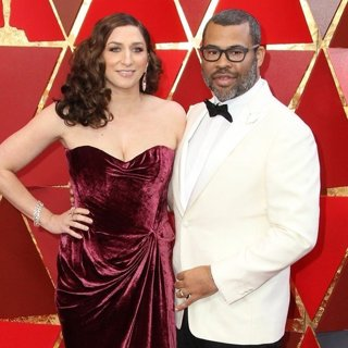 Chelsea Peretti, Jordan Peele in 90th Annual Academy Awards - Arrivals