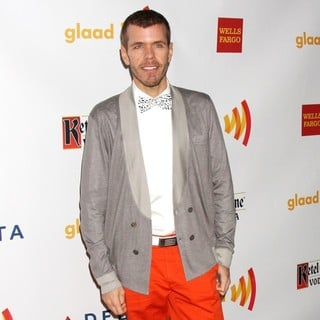 Perez Hilton in The 23rd Annual GLAAD Media Awards