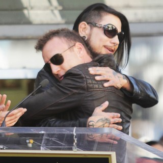 Stephen Perkins, Dave Navarro, Jane's Addiction in Ceremony Honoring Jane's Addiction with A Star on The Hollywood Walk of Fame