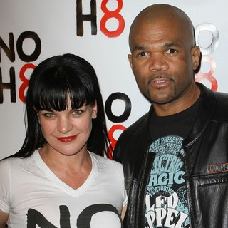 Pauley Perrette, DMC in NOH8's 3 year Anniversary Celebration
