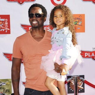 Harold Perrineau, Wynter Aria Perrineau in Los Angeles Premiere of Disney's Planes