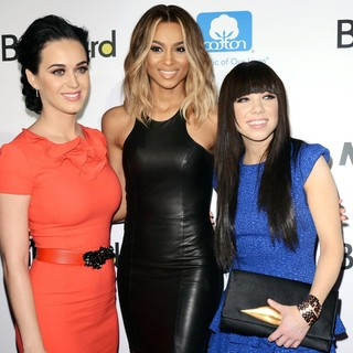 Katy Perry, Ciara, Carly Rae Jepsen in 2012 Billboard Women in Music Luncheon - Arrivals