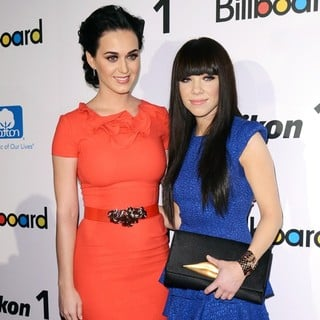 Katy Perry, Carly Rae Jepsen in 2012 Billboard Women in Music Luncheon - Arrivals