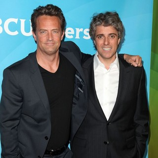 Matthew Perry, Scott Silveri in NBC Universal Press Tour