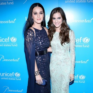 Katy Perry, Allison Williams in 8th Annual UNICEF Snowflake Ball