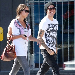 Pete Wentz Steps Out with A Female Companion