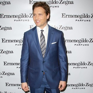 Peter Facinelli in The Ermenegildo Zegna Essenze Collection Launch Event