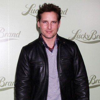 Peter Facinelli in Lucky Brand Flagship Store Opening Benefiting The Art of Elysium - Arrivals
