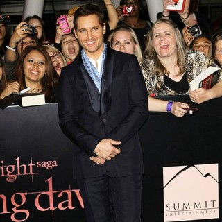 Peter Facinelli in The Twilight Saga's Breaking Dawn Part I World Premiere