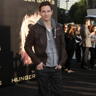 Peter Facinelli in Los Angeles Premiere of The Hunger Games - Arrivals
