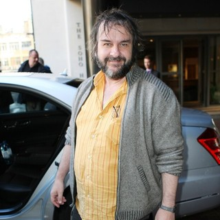 Peter Jackson in Celebrities Outside The Soho Hotel