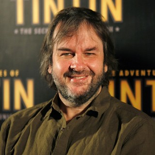 Peter Jackson in The Adventures of Tintin: Secret of the Unicorn Photocall