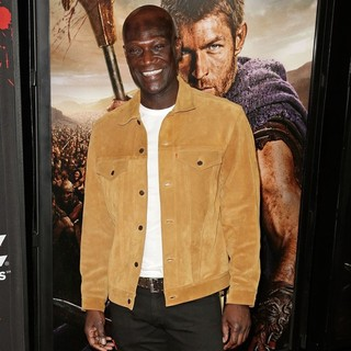 Peter Mensah in U.S. Premiere Screening of Spartacus: War of the Damned