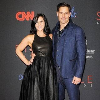 Bridget Peters, Joe Manganiello in 2013 Style Awards - Red Carpet Arrivals