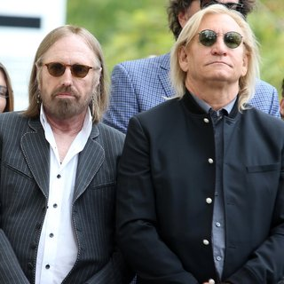 Tom Petty - Jeff Lynne Honored with Star on The Hollywood Walk of Fame