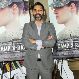 Peyman Moaadi in Screening of Camp X-Ray - Arrivals
