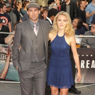 Brad Peyton, Breanne Hill in The World Premiere of San Andreas - Arrivals
