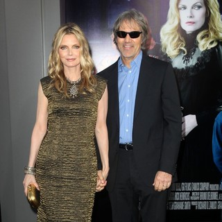 Michelle Pfeiffer, David E. Kelley in Dark Shadows Premiere