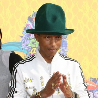 Pharrell Williams in Nickelodeon's 27th Annual Kids' Choice Awards - Arrivals