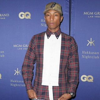Pharrell Williams in All-Star Red Carpet Affair to Celebrate Nightclub Grand Opening