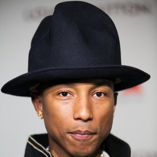 Pharrell Williams in MOCA's 35th Anniversary Gala Presented by Louis Vuitton