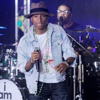 Pharrell Williams in Pharrell Williams Performs Live on The Today Show