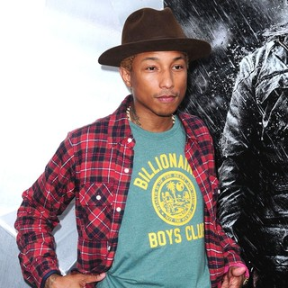 Pharrell Williams in The Dark Knight Rises New York Premiere - Arrivals
