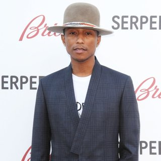 Pharrell Williams in Serpentine Gallery Summer Party - Arrivals