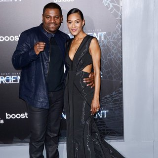 Mekhi Phifer, Reshelet Barnes in US Premiere of The Divergent Series: Insurgent - Red Carpet Arrivals