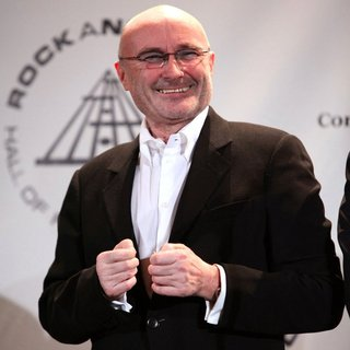 Phil Collins in 25th Annual Rock and Roll Hall of Fame Induction Ceremony - Press Room