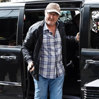Phil Collins in Phil Collins Arrives at The BBC Radio 1 Studios