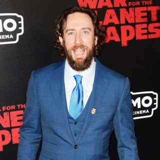 Philip Burke in Premiere of War for the Planet of the Apes