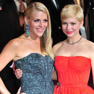 Busy Philipps, Michelle Williams in 84th Annual Academy Awards - Arrivals