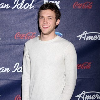 Phillip Phillips in The American Idol Season 11 Top 13 Party