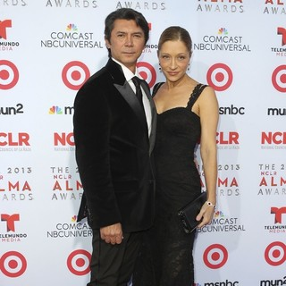 Lou Diamond Phillips, Yvonne Boismier in The 2013 NCLR ALMA Awards