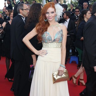 Phoebe Price in On the Road Premiere - During The 65th Cannes Film Festival