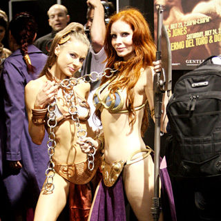 Phoebe Price in Promotes The Work of Guillermo del Toro During Comic Con 2010 - Day 2