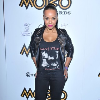 Phreeda Sharp in The 2012 MOBO Awards Nominations Announcement - Arrivals