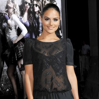 Pia Toscano in Los Angeles Premiere of Pitch Perfect