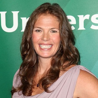 Picabo Street in NBC Universal Press Tour