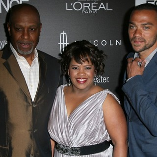 James Pickens Jr., Chandra Wilson, Jesse Williams in 5th Annual ESSENCE Black Women in Hollywood Luncheon