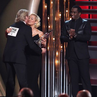 Kellie Pickler, P. Diddy in 47th Annual CMA Awards - Show