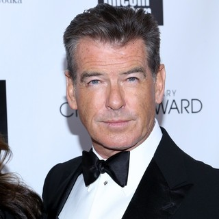 Pierce Brosnan in 40th Anniversary Chaplin Award Gala Honoring Barbra Streisand