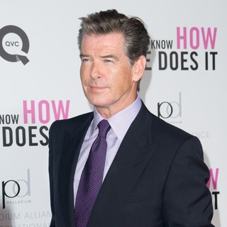Pierce Brosnan in New York Premiere of I Don't Know How She Does It - Arrivals
