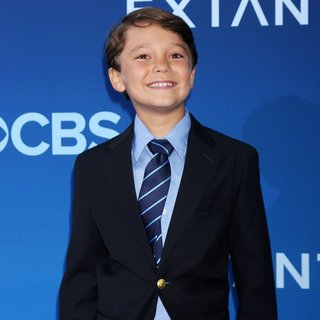 Pierce Gagnon in CBS Television Presents Extant Premiere Party