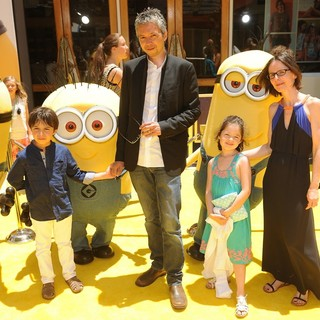 Pierre Coffin in Premiere of Universal Pictures' Despicable Me 2