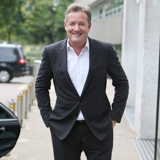 Piers Morgan in Piers Morgan Outside ITV Studios