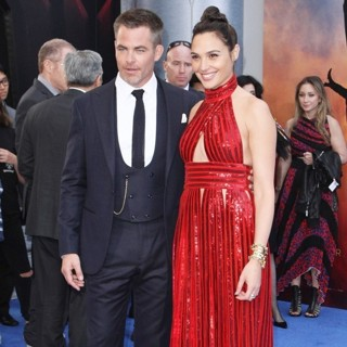 Chris Pine, Gal Gadot in Wonder Woman World Premiere