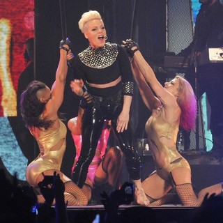 Pink Performing Live for The First Night of 2013 European Truth About Love Tour - pink-2013-european-truth-about-love-tour-12