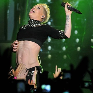 Pink Performing Live for The First Night of 2013 European Truth About Love Tour - pink-2013-european-truth-about-love-tour-14